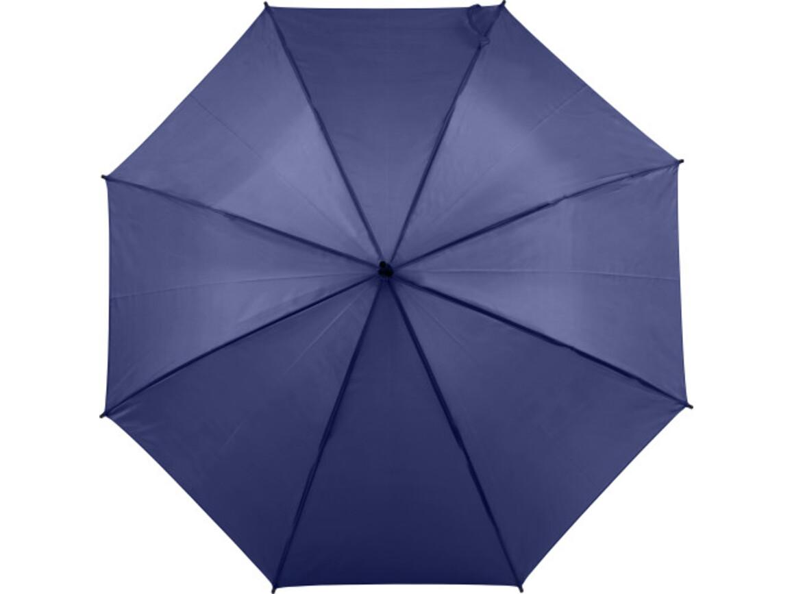 Automatischer Regenschirm 'Sandra' – Blau bedrucken, Art.-Nr. 005999999_8003
