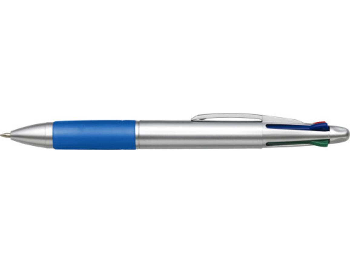 Kugelschreiber 'Las Palmas' aus Kunststoff – Blau bedrucken, Art.-Nr. 005999999_8123