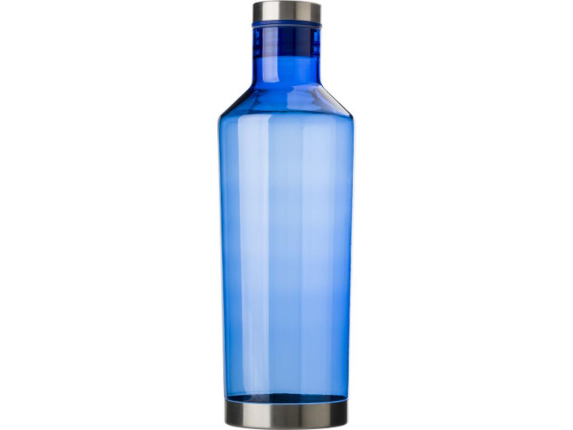 Transparente Wasserflasche 'Sydney' – Blau bedrucken, Art.-Nr. 005999999_8161