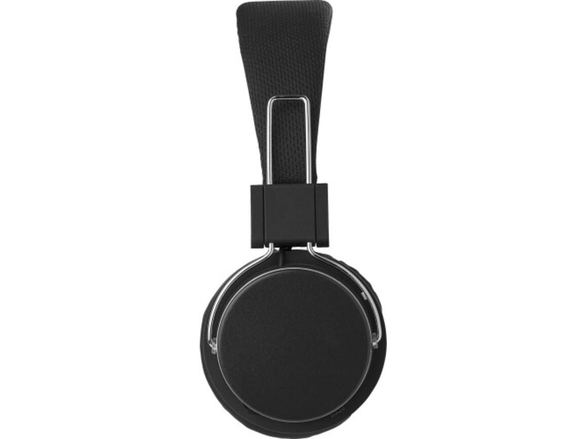 Wireless Kopfhörer 'Independent' aus Kunststoff – Schwarz bedrucken, Art.-Nr. 001999999_8165