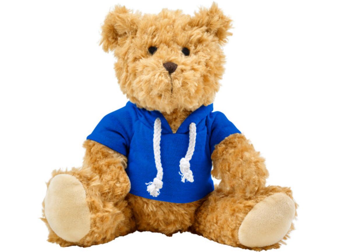 Plüsch-Teddybär 'Olaf' – Blau bedrucken, Art.-Nr. 005999999_8182