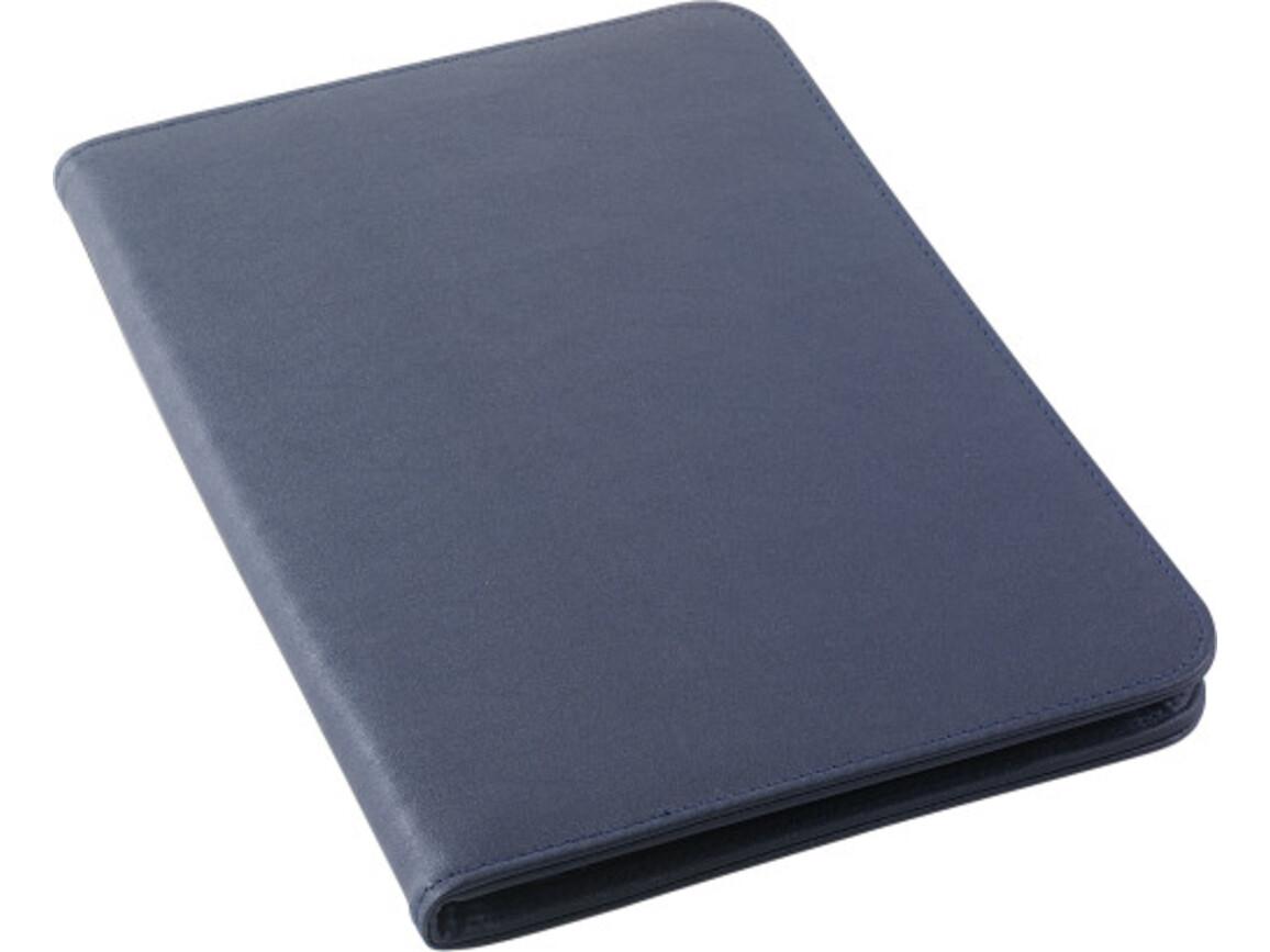 Dokumentenmappe 'Imperial' aus PVC – Blau bedrucken, Art.-Nr. 005999999_8212