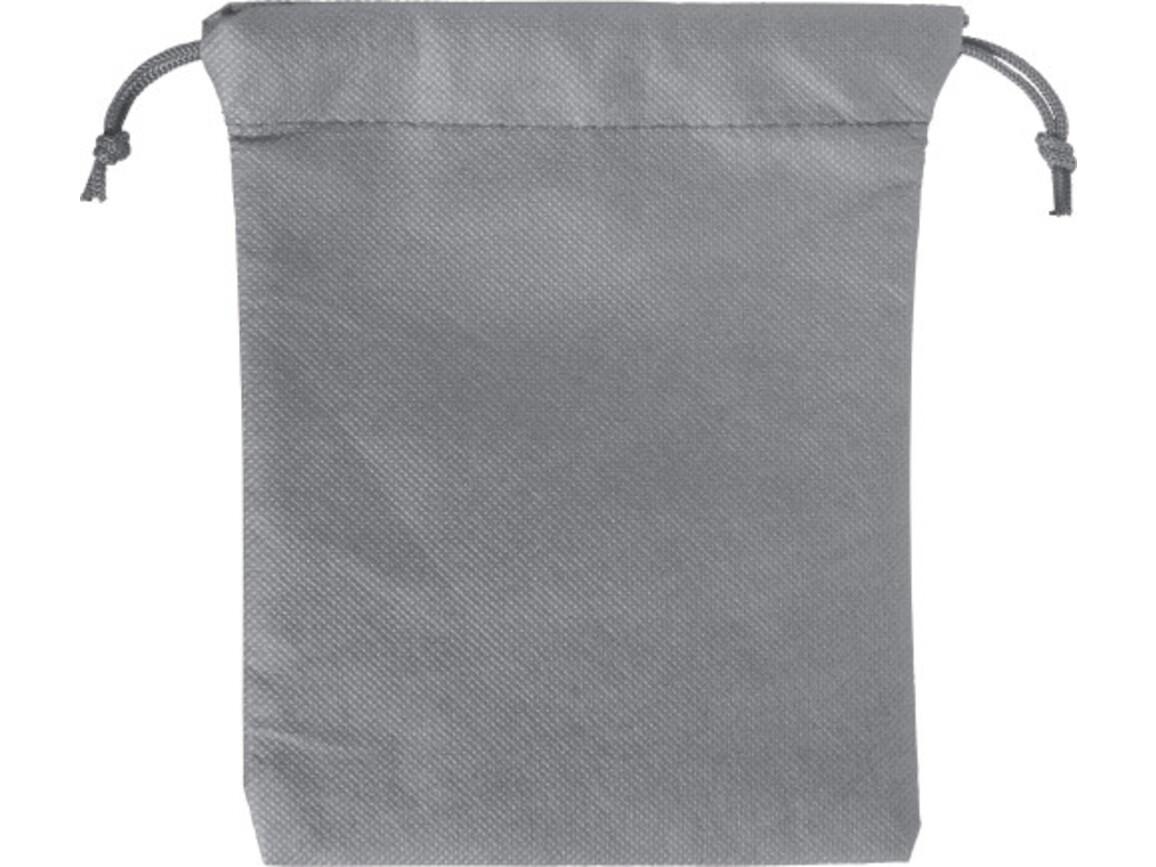Geschenkbeutel 'Goodie' aus Non-Woven – Grau bedrucken, Art.-Nr. 003999999_8279
