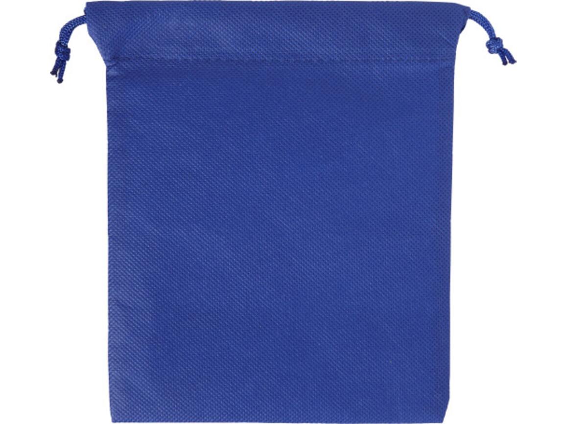 Geschenkbeutel 'Goodie' aus Non-Woven – Blau bedrucken, Art.-Nr. 005999999_8279