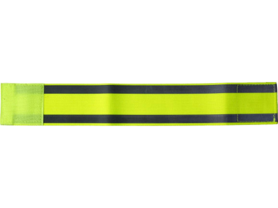 Sicherheitsarmband 'Traffic' aus Elastan – Gelb bedrucken, Art.-Nr. 006999999_8288