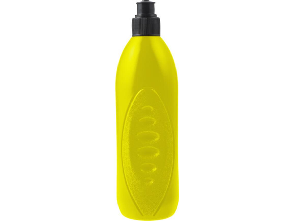 Trinkflasche 'Match' (500 ml) aus PE Kunststoff – Gelb bedrucken, Art.-Nr. 006999999_8299