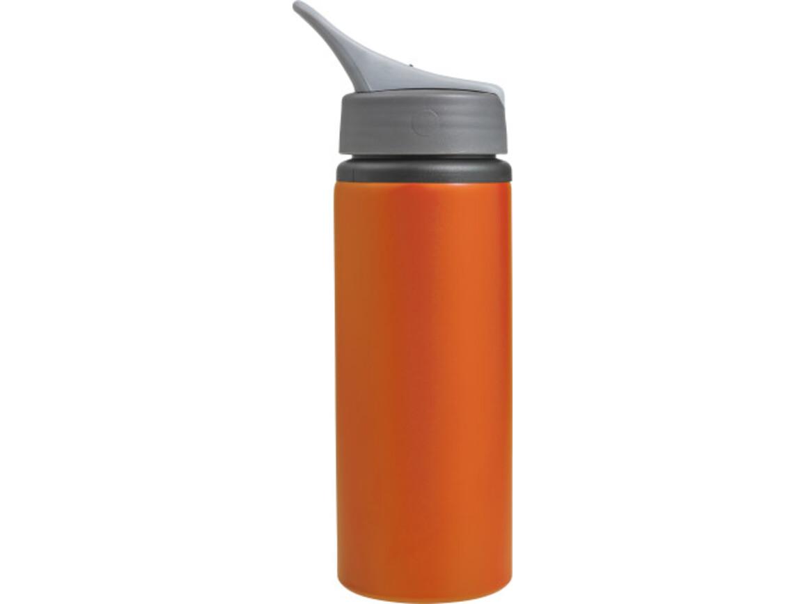 Trinkflasche 'Platypus' aus Aluminium (750 ml) – Orange bedrucken, Art.-Nr. 007999999_8408