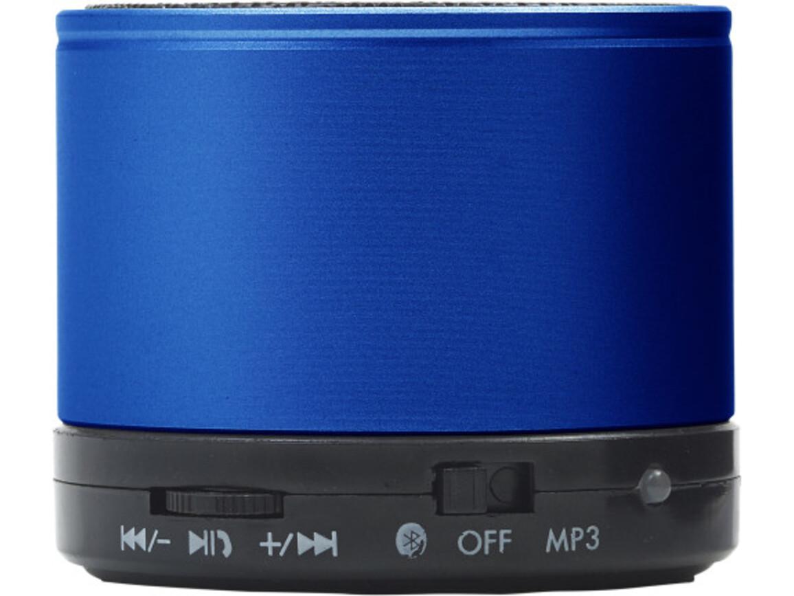 Wireless Lautsprecher 'Emotion' aus Metall – Blau bedrucken, Art.-Nr. 005999999_8459