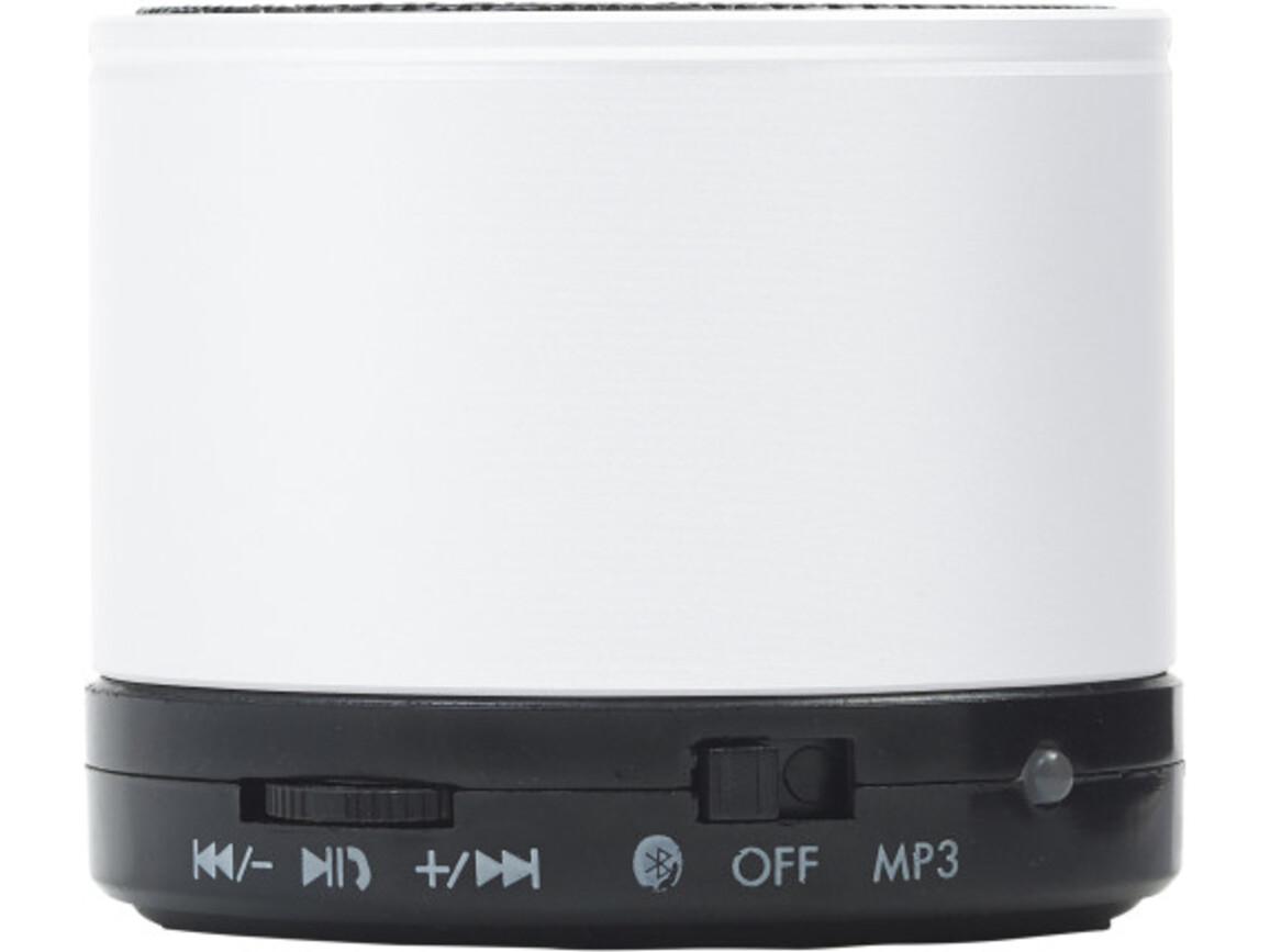 Wireless Lautsprecher 'Emotion' aus Metall – Weiß bedrucken, Art.-Nr. 002999999_8459