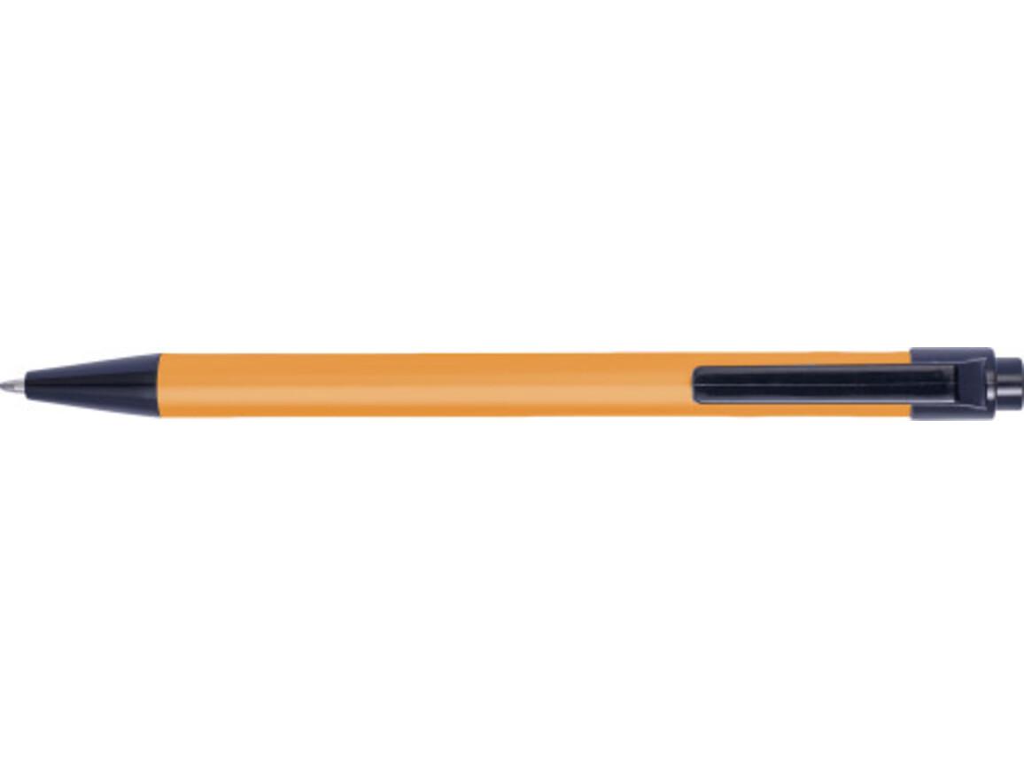 Kugelschreiber 'Spiekeroog' aus Aluminium mit Touchfunktion – Orange bedrucken, Art.-Nr. 007999999_8463