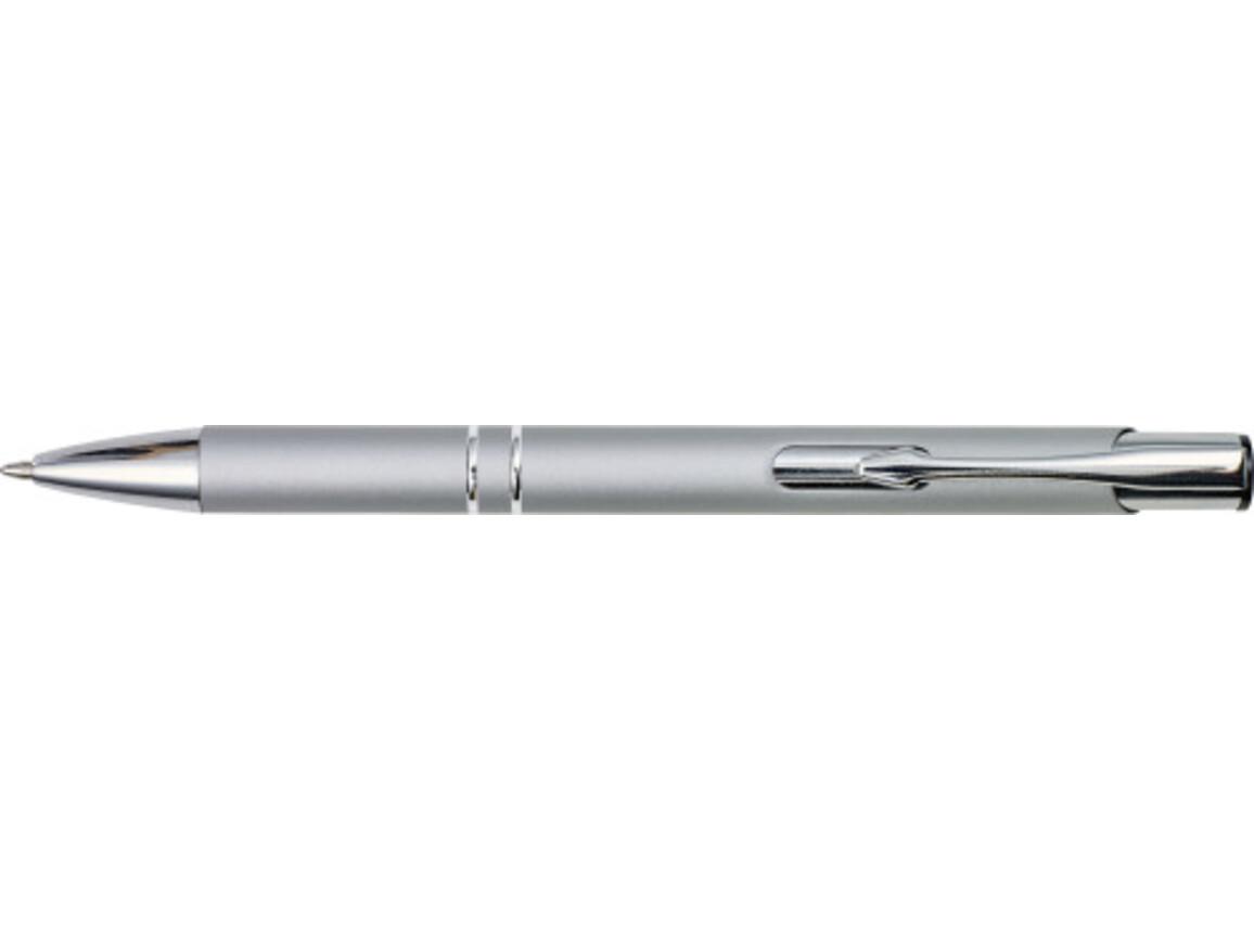 Kugelschreiber 'Albatros' aus Metall – Grau bedrucken, Art.-Nr. 003999999_8476