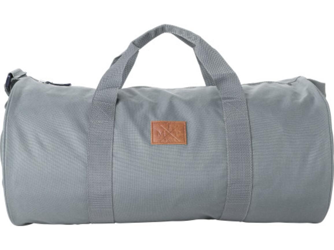 Reisetasche / Dufflebag 'Daily' aus 600D Polyester – Grau bedrucken, Art.-Nr. 003999999_8492
