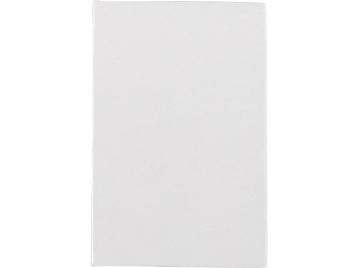 Notizbuch 'Compact' mit Haftnotizen – Weiß bedrucken, Art.-Nr. 002999999_8532