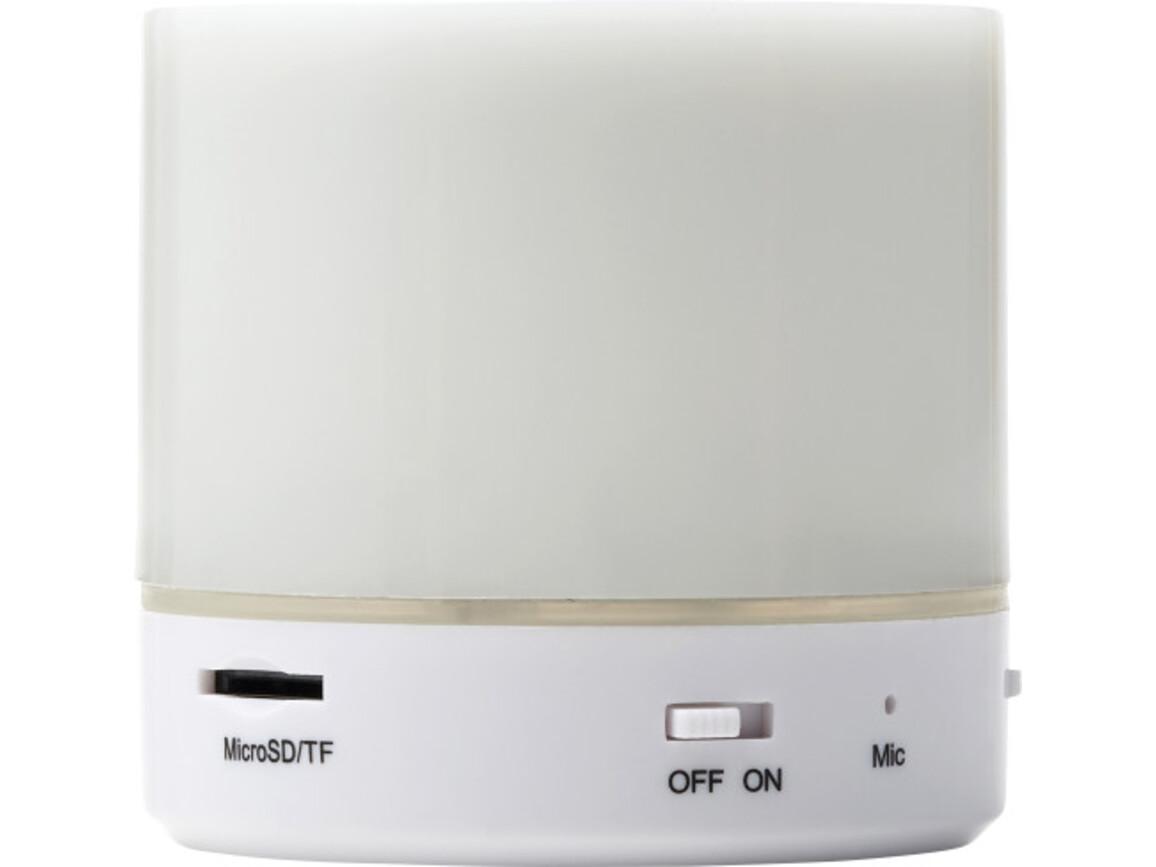 BT-Wireless Lautsprecher 'Candle' aus Kunststoff – Weiß bedrucken, Art.-Nr. 002999999_8564