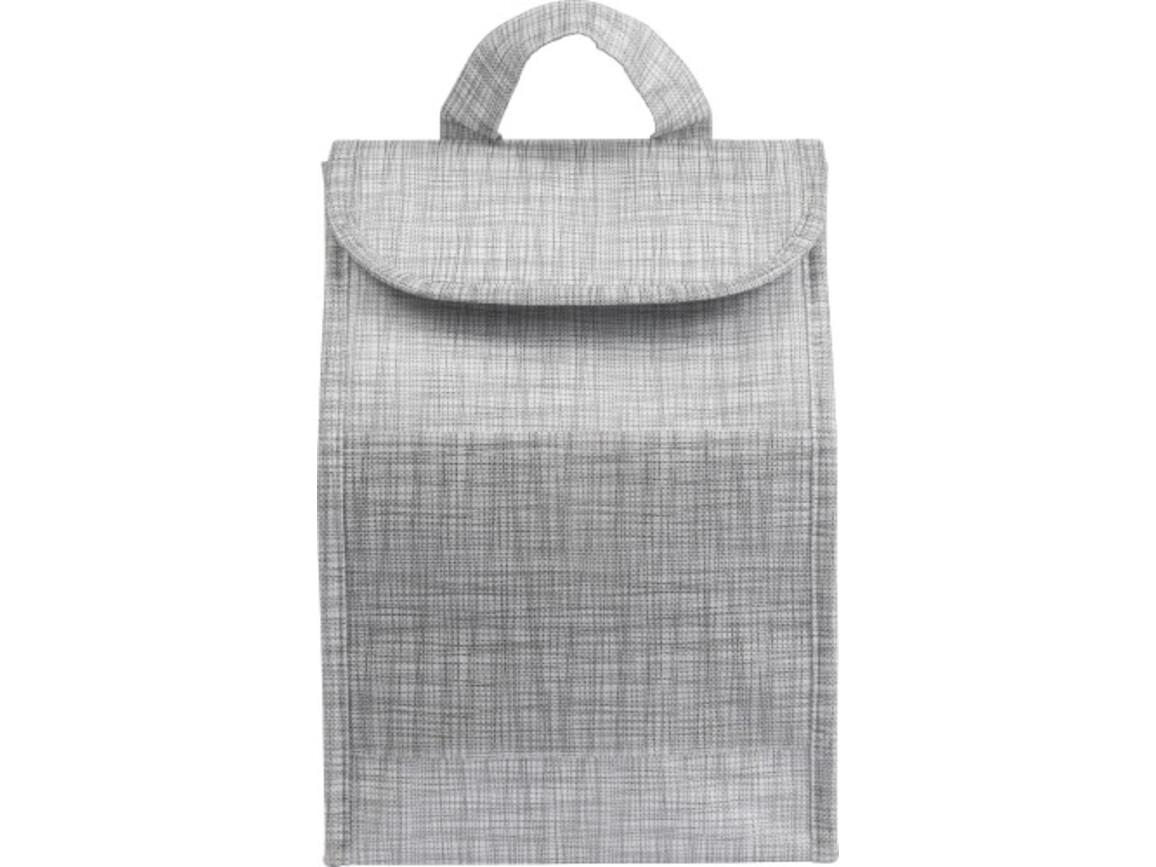 Tasche 'Bag' aus Non-Woven mit Kühlfunktion – Grau bedrucken, Art.-Nr. 003999999_8572