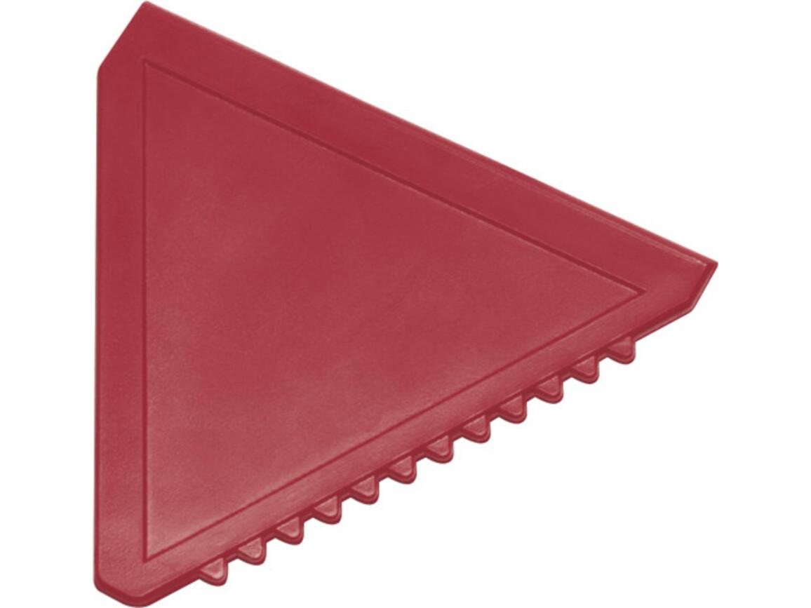 Eiskratzer  'Classic' aus Kunststoff – Rot bedrucken, Art.-Nr. 008999999_8761