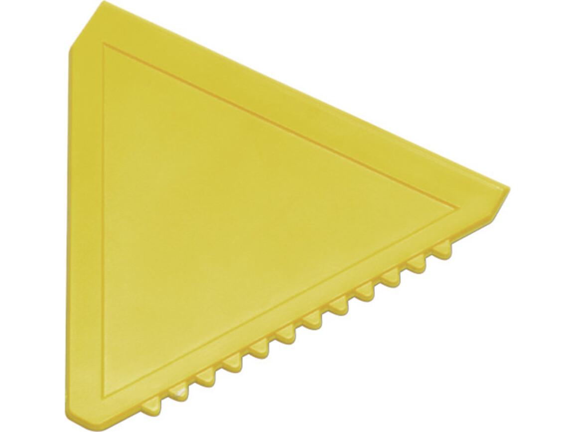Eiskratzer  'Classic' aus Kunststoff – Gelb bedrucken, Art.-Nr. 006999999_8761