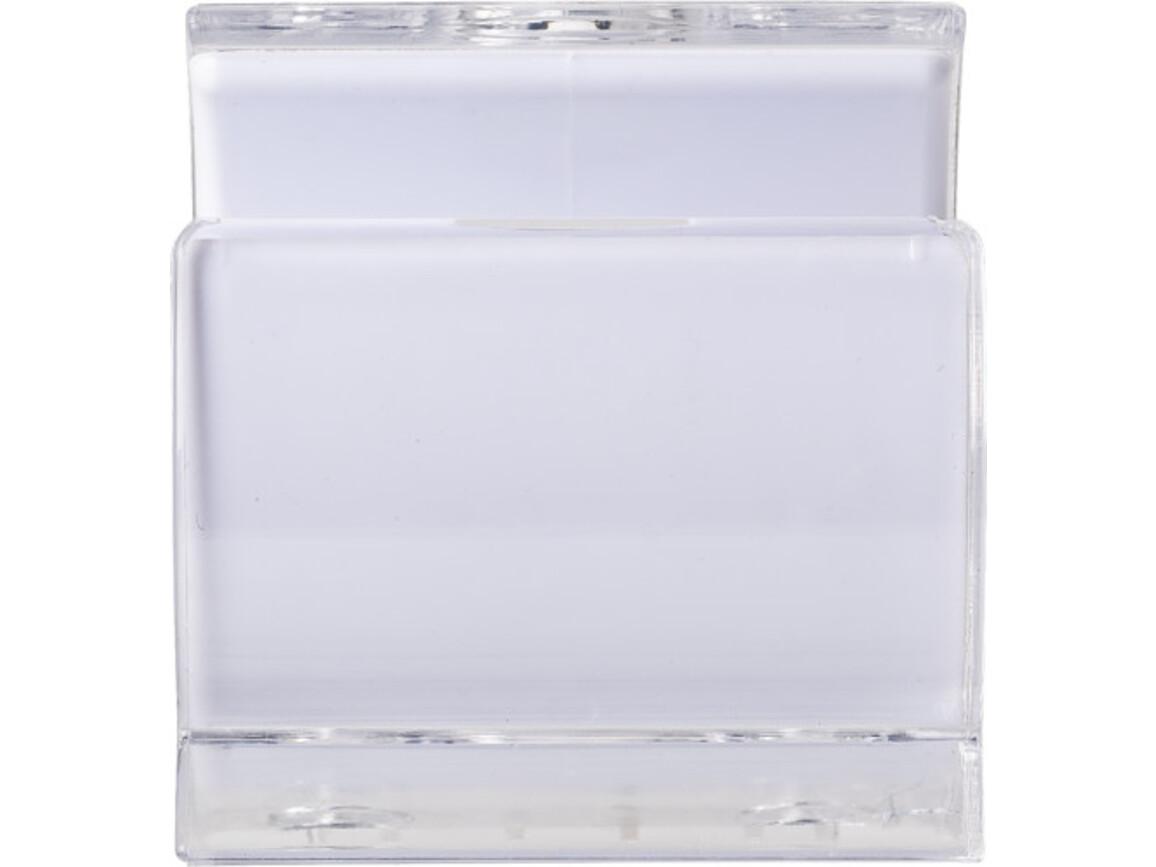 Handyhalter 'Brasilia' aus Kunststoff – Weiß bedrucken, Art.-Nr. 002999999_8809