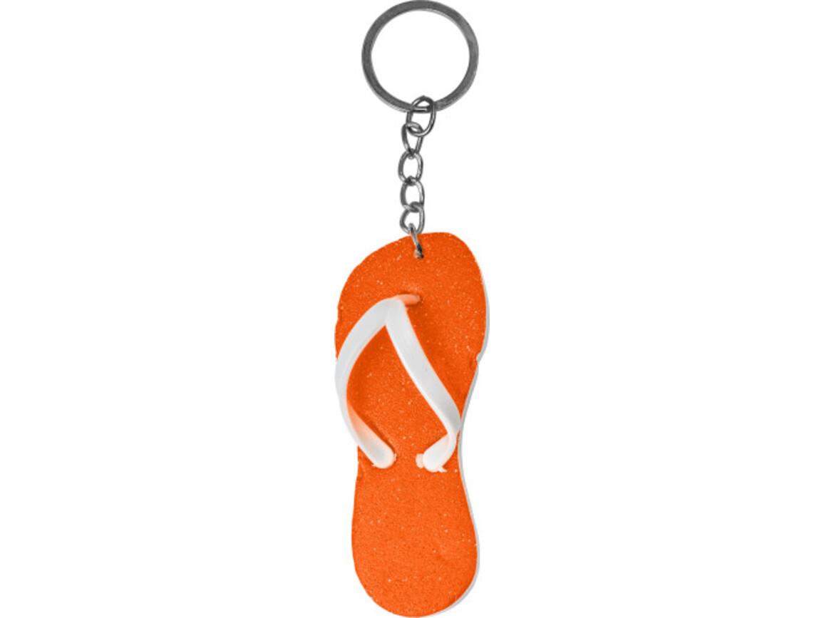 Schlüsselanhänger 'Maui' – Orange bedrucken, Art.-Nr. 007999999_8841