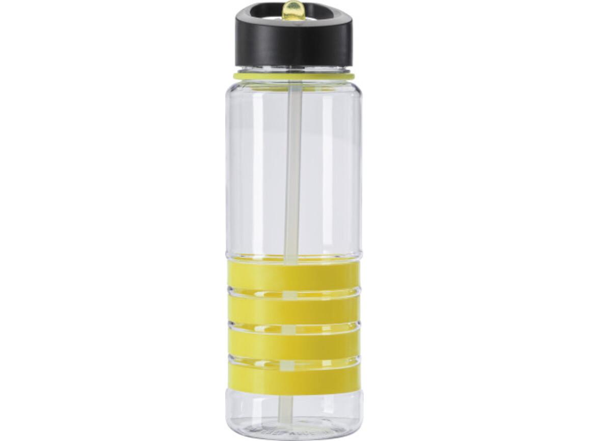 Trinkflasche 'Grip' aus Tritan (700 ml) – Gelb bedrucken, Art.-Nr. 006999999_8971