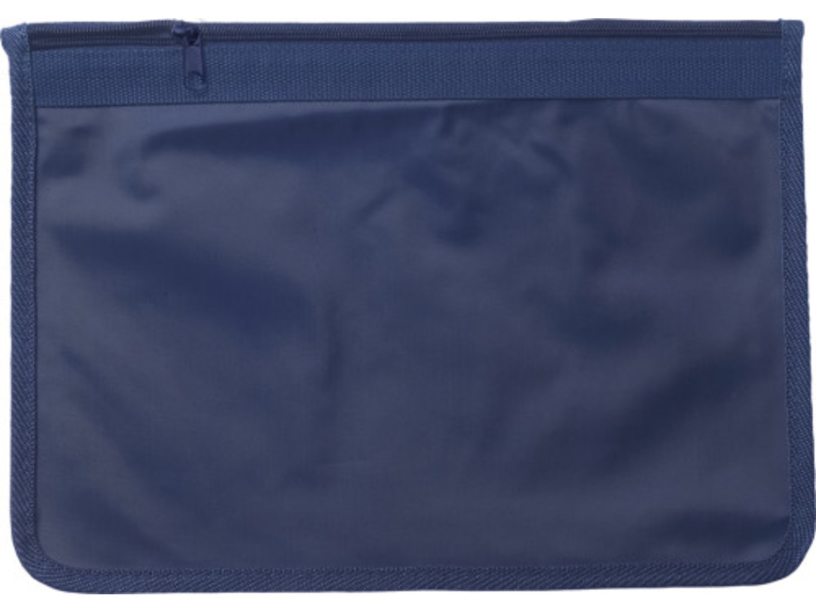 Dokumententasche 'Allegro' aus Nylon – Blau bedrucken, Art.-Nr. 005999999_9100