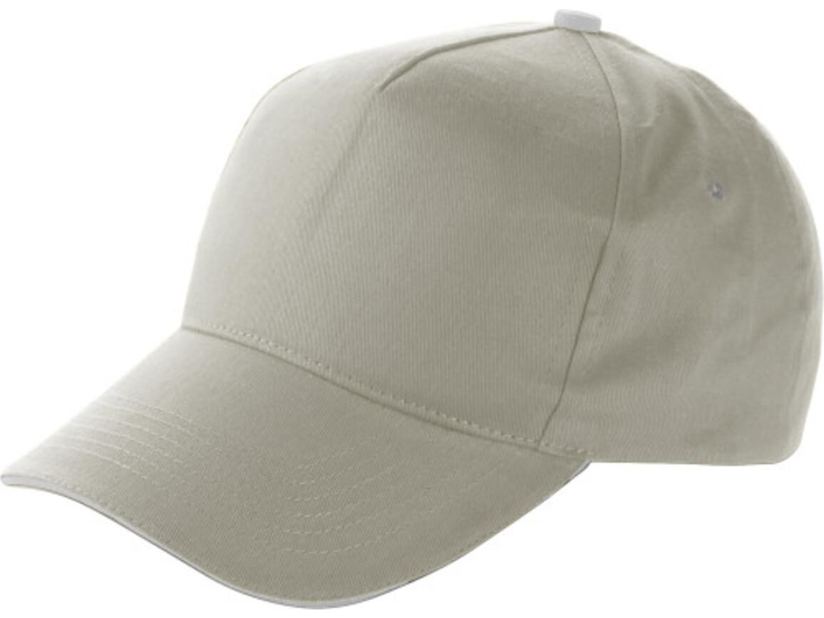 Baseball-Cap 'Dallas' aus Baumwolle – Grau bedrucken, Art.-Nr. 003999999_9114