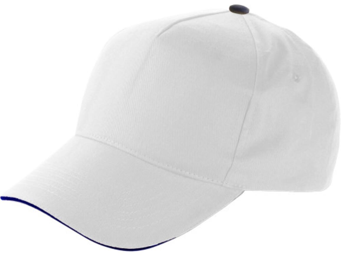 Baseball-Cap 'Dallas' aus Baumwolle – Weiß bedrucken, Art.-Nr. 002999999_9114