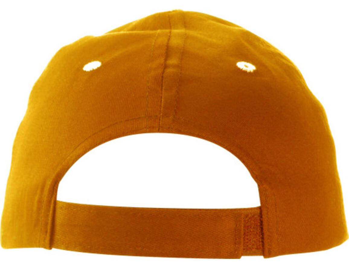 Baseball-Cap 'Chicago' aus Baumwolle – Orange bedrucken, Art.-Nr. 007999999_9120