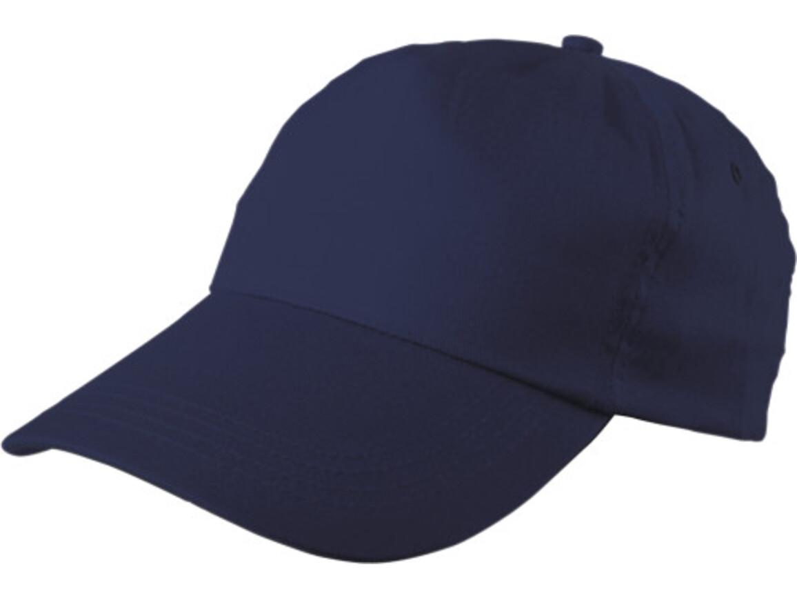 Baseballcap 'Philadephia' aus 100 % Baumwolle – Blau bedrucken, Art.-Nr. 005999999_9128