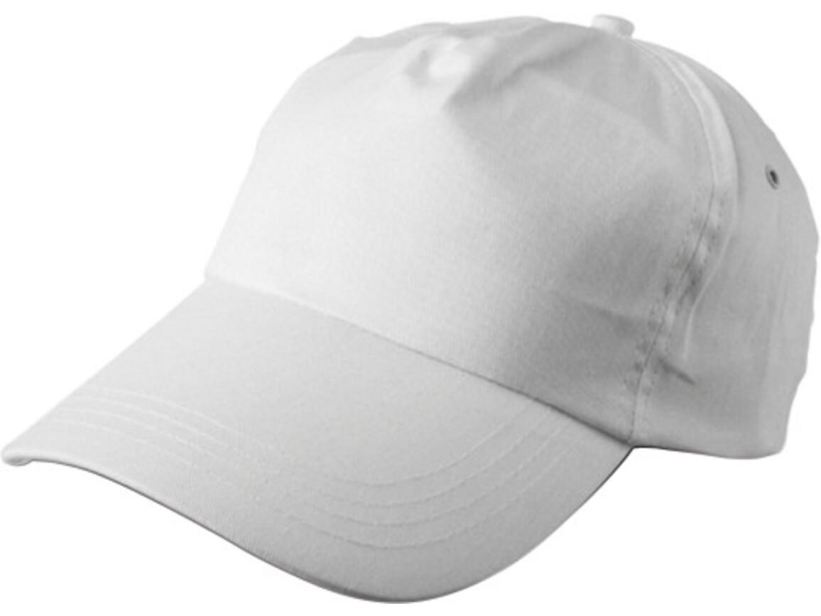 Baseballcap 'Philadephia' aus 100 % Baumwolle – Weiß bedrucken, Art.-Nr. 002999999_9128