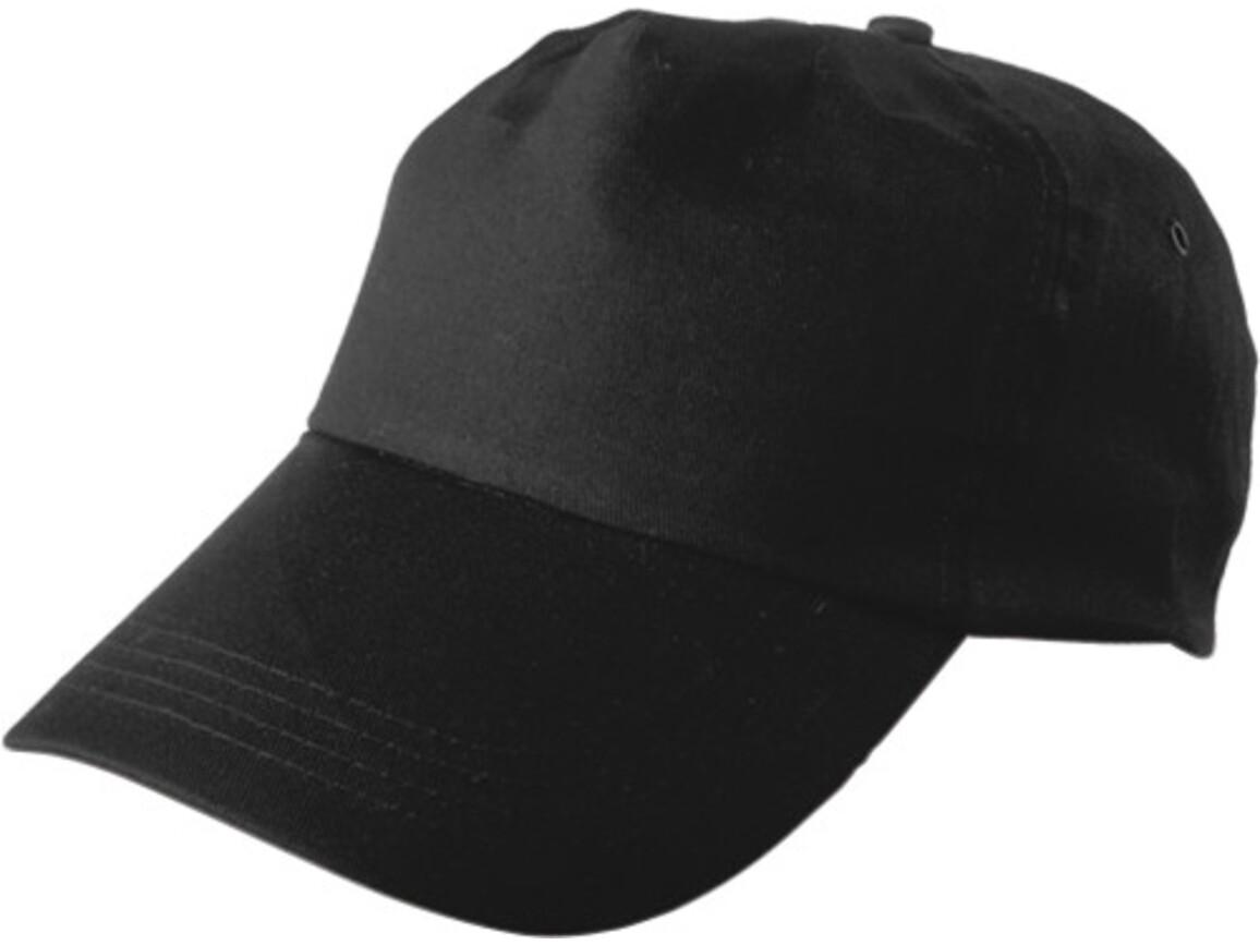 Baseballcap 'Philadephia' aus 100 % Baumwolle – Schwarz bedrucken, Art.-Nr. 001999999_9128
