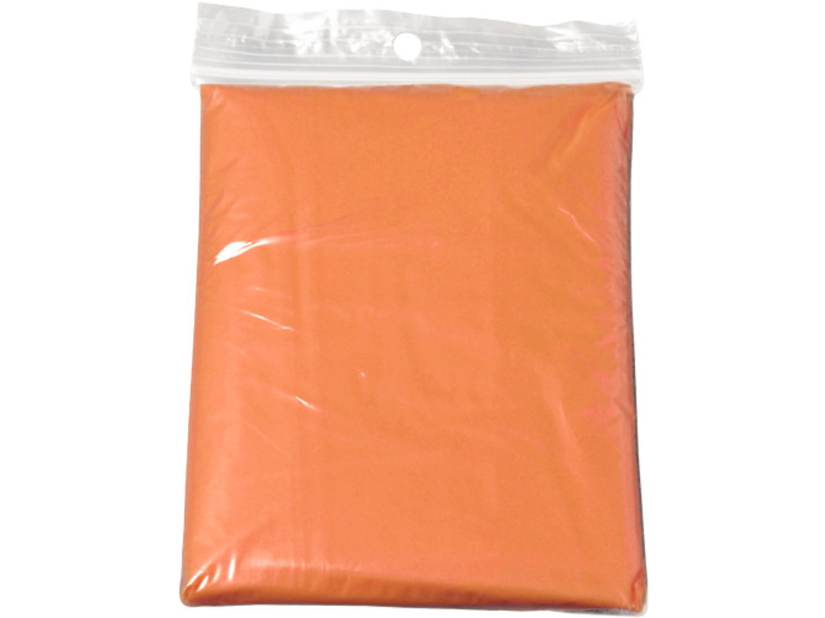 Universalponcho 'Emergency' – Orange bedrucken, Art.-Nr. 007999999_9504