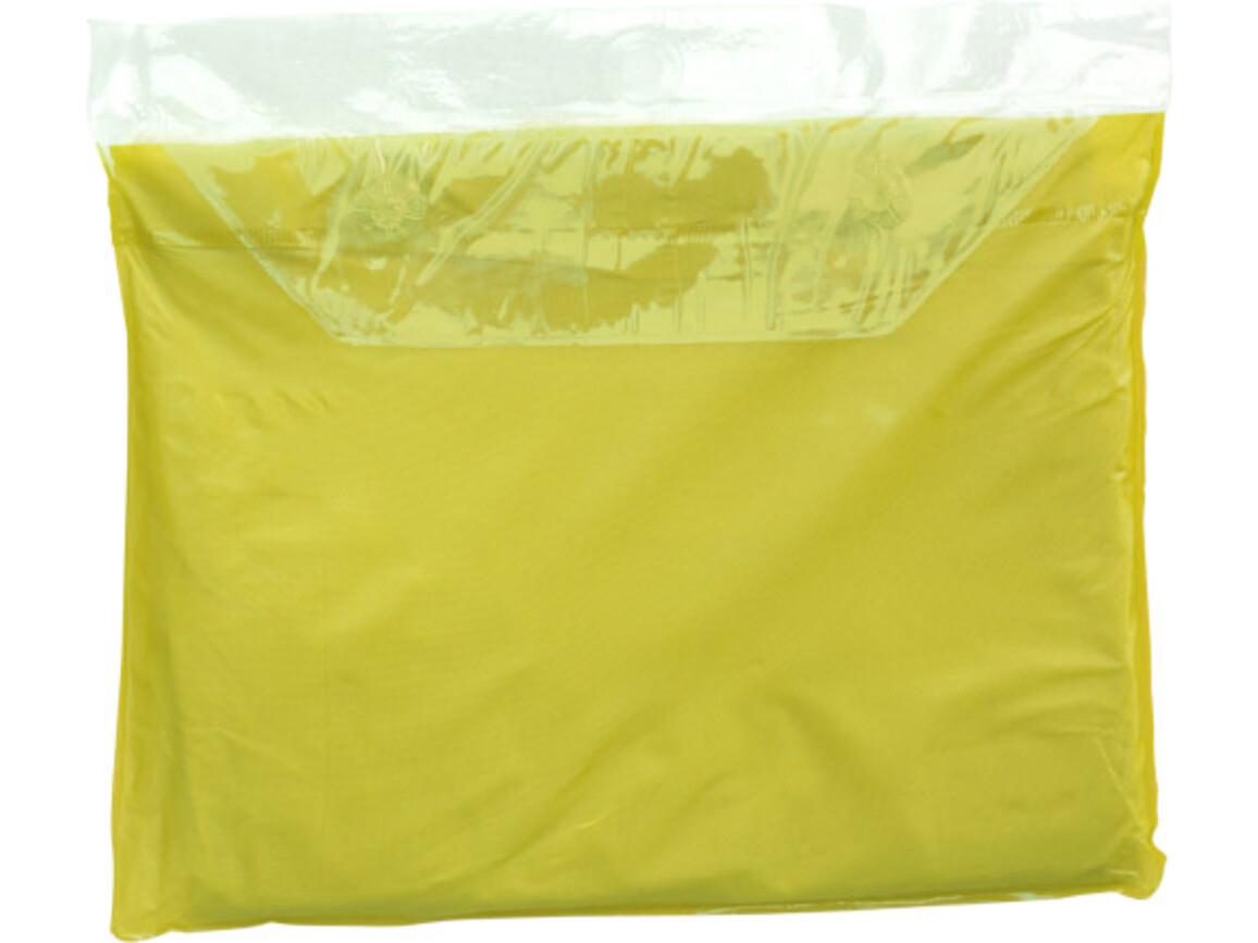 Universal-Freizeitponcho 'Dry' – Gelb bedrucken, Art.-Nr. 006999999_9507