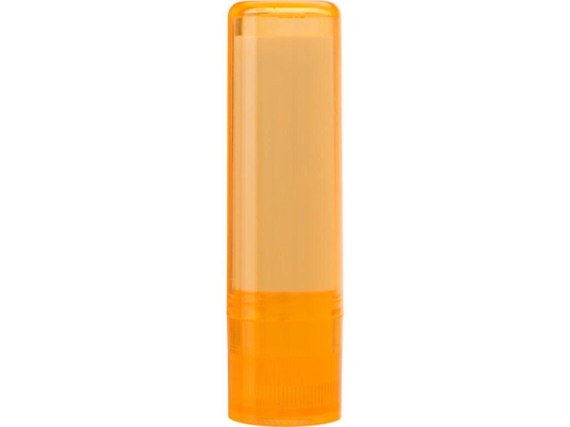 Lippenbalsam 'Basic' mit Lichtschutzfaktor 15 – Orange bedrucken, Art.-Nr. 007999999_9534