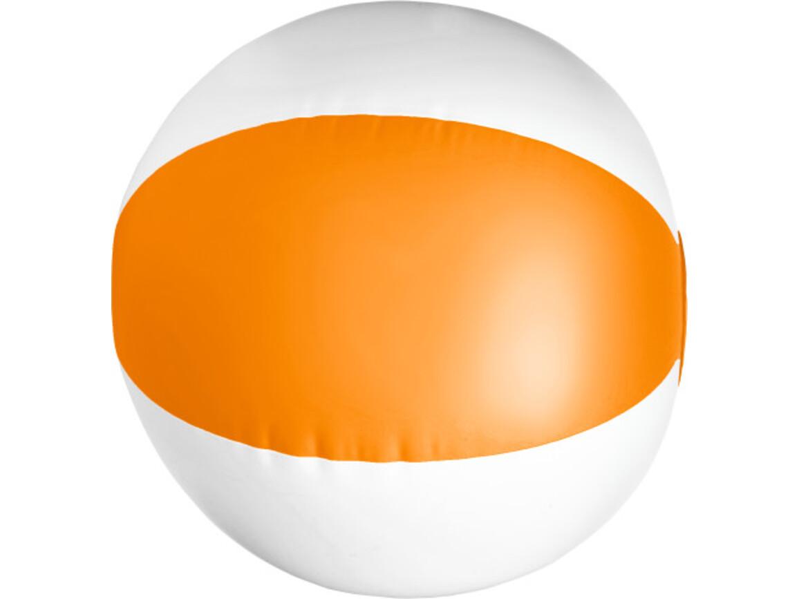 Aufblasbarer Wasserball aus PVC – Orange bedrucken, Art.-Nr. 007999999_9620