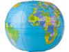Aufblasbarer Wasserball 'Globus' – custom/multicolor bedrucken, Art.-Nr. 009999999_9648