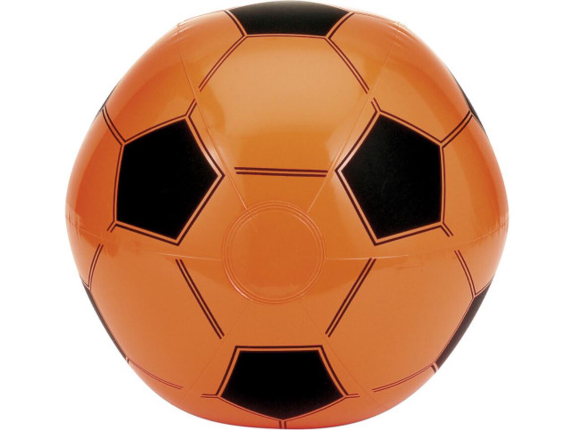 Aufblasbarer Wasserball 'Champion' aus PVC – Orange bedrucken, Art.-Nr. 007999999_9655
