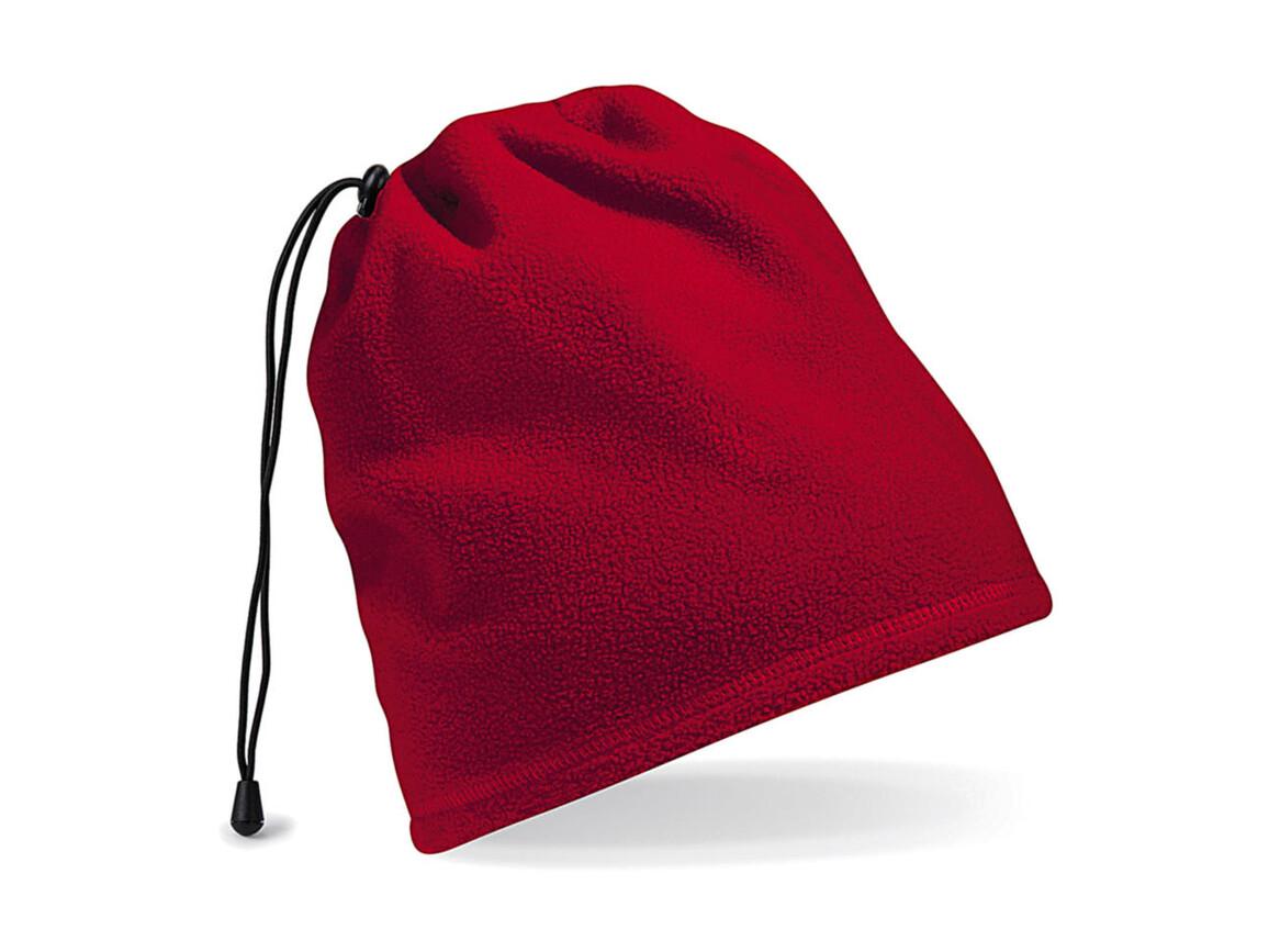 Beechfield Suprafleece™ Snood/ Hat Combo, Classic Red, One Size bedrucken, Art.-Nr. 008694010