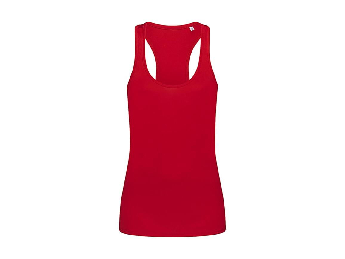 Stedman Active 140 Tank Women, Crimson Red, M bedrucken, Art.-Nr. 010054414
