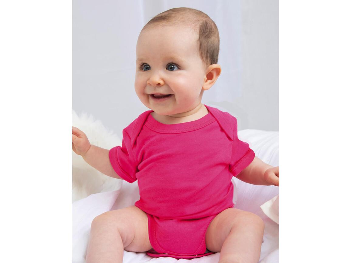BabyBugz Baby Bodysuit, Surf Blue Organic, 6-12 bedrucken, Art.-Nr. 010473313
