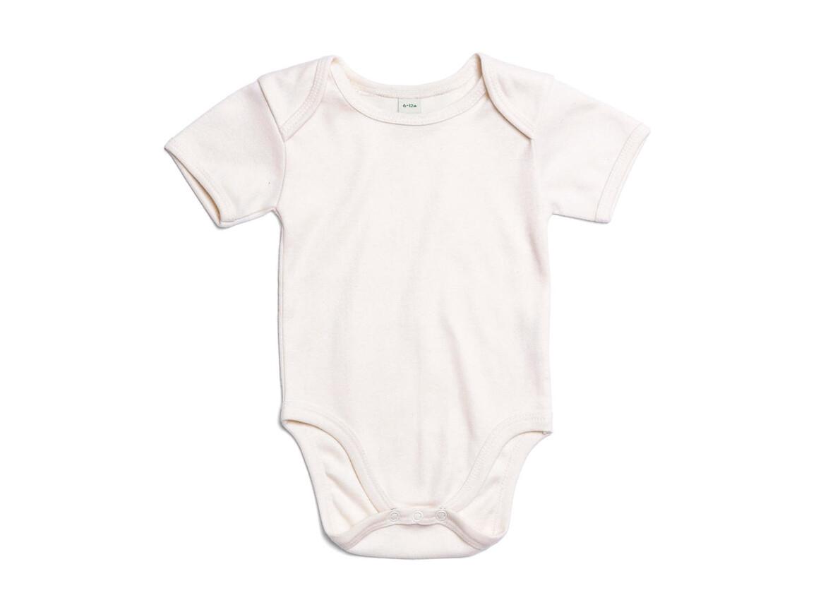 BabyBugz Baby Bodysuit, Organic Natural, 6-12 bedrucken, Art.-Nr. 010470083