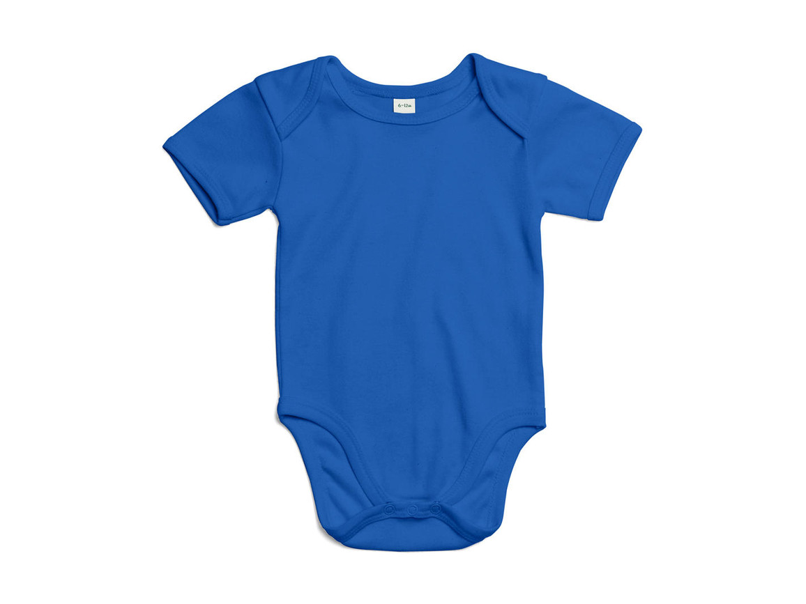 BabyBugz Baby Bodysuit, Cobalt Blue Organic, 3-6 bedrucken, Art.-Nr. 010473192