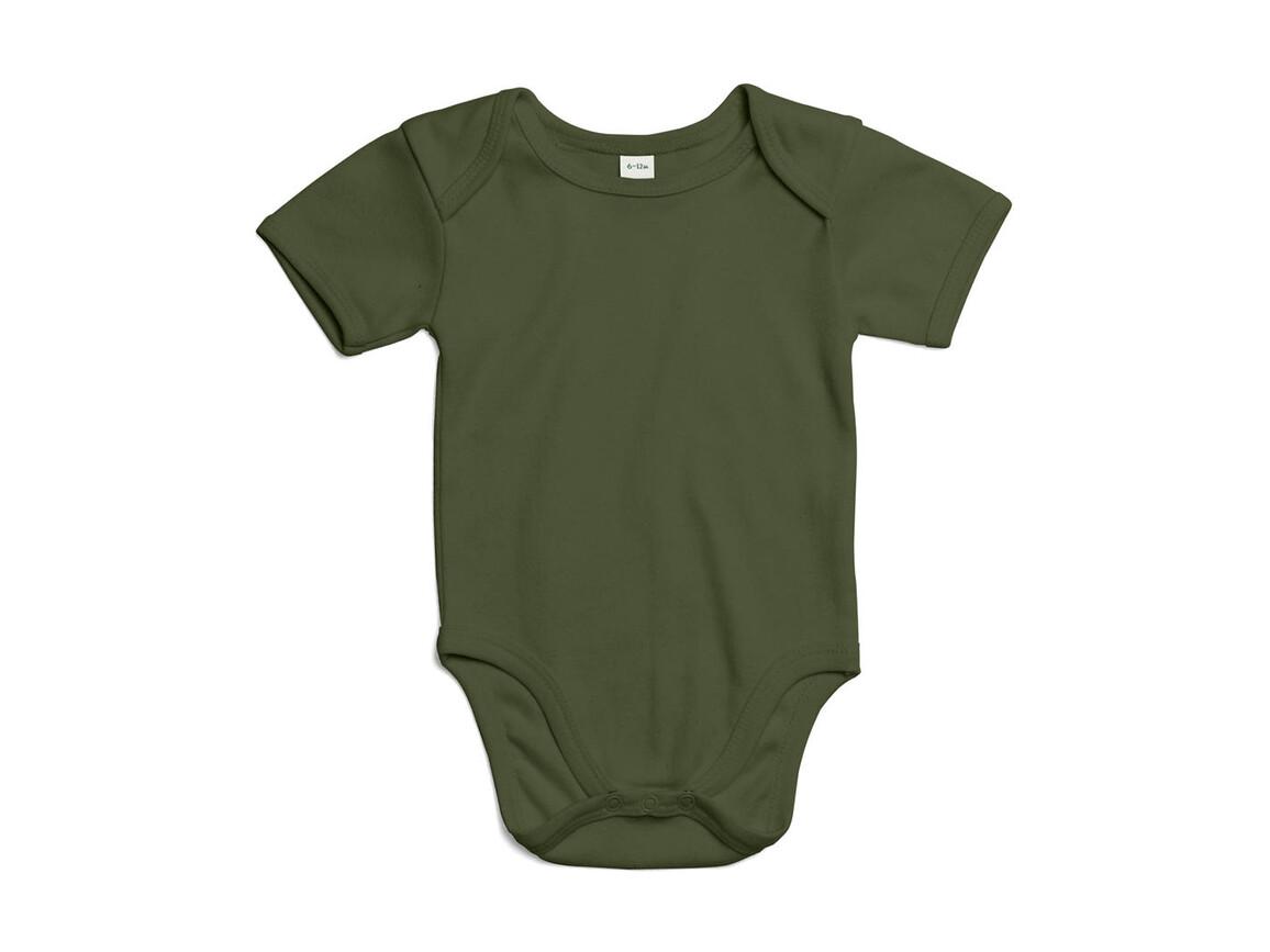 BabyBugz Baby Bodysuit, Light Olive Organic, 0-3 bedrucken, Art.-Nr. 010475291