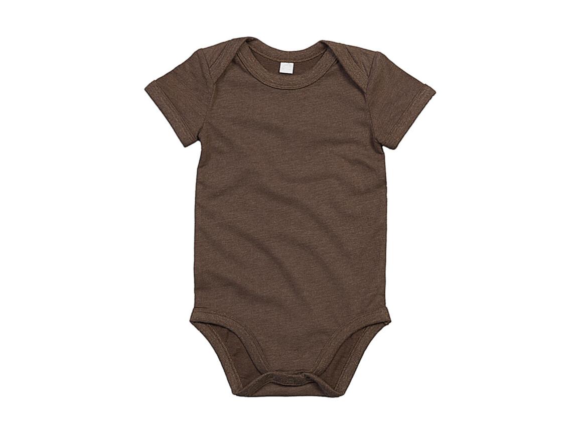BabyBugz Baby Bodysuit, Mocha Organic, 6-12 bedrucken, Art.-Nr. 010477293