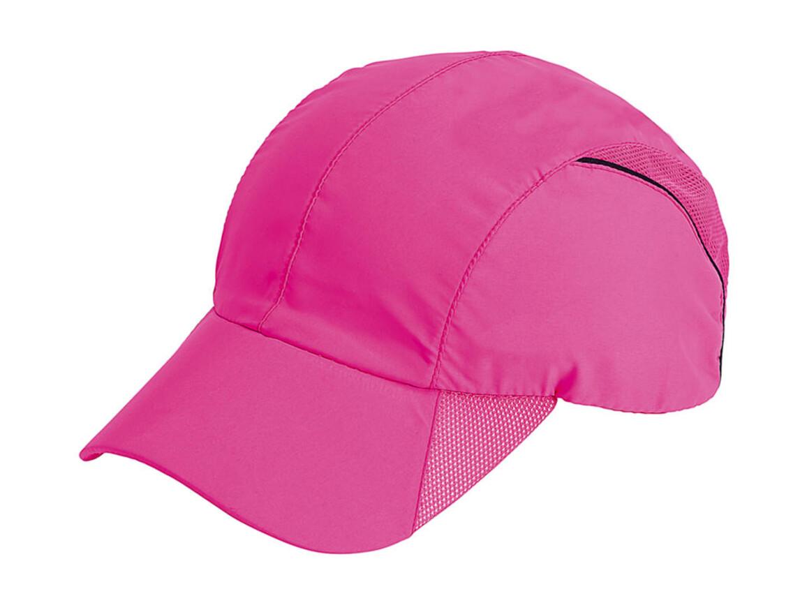 Result Caps Spiro Impact Sport Cap, Fluorescent Pink, One Size bedrucken, Art.-Nr. 011344240