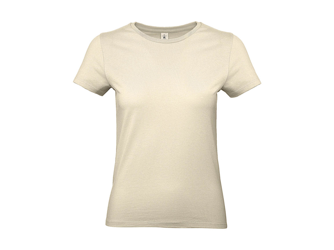 B & C #E190 /women T-Shirt, Natural, L bedrucken, Art.-Nr. 020420085