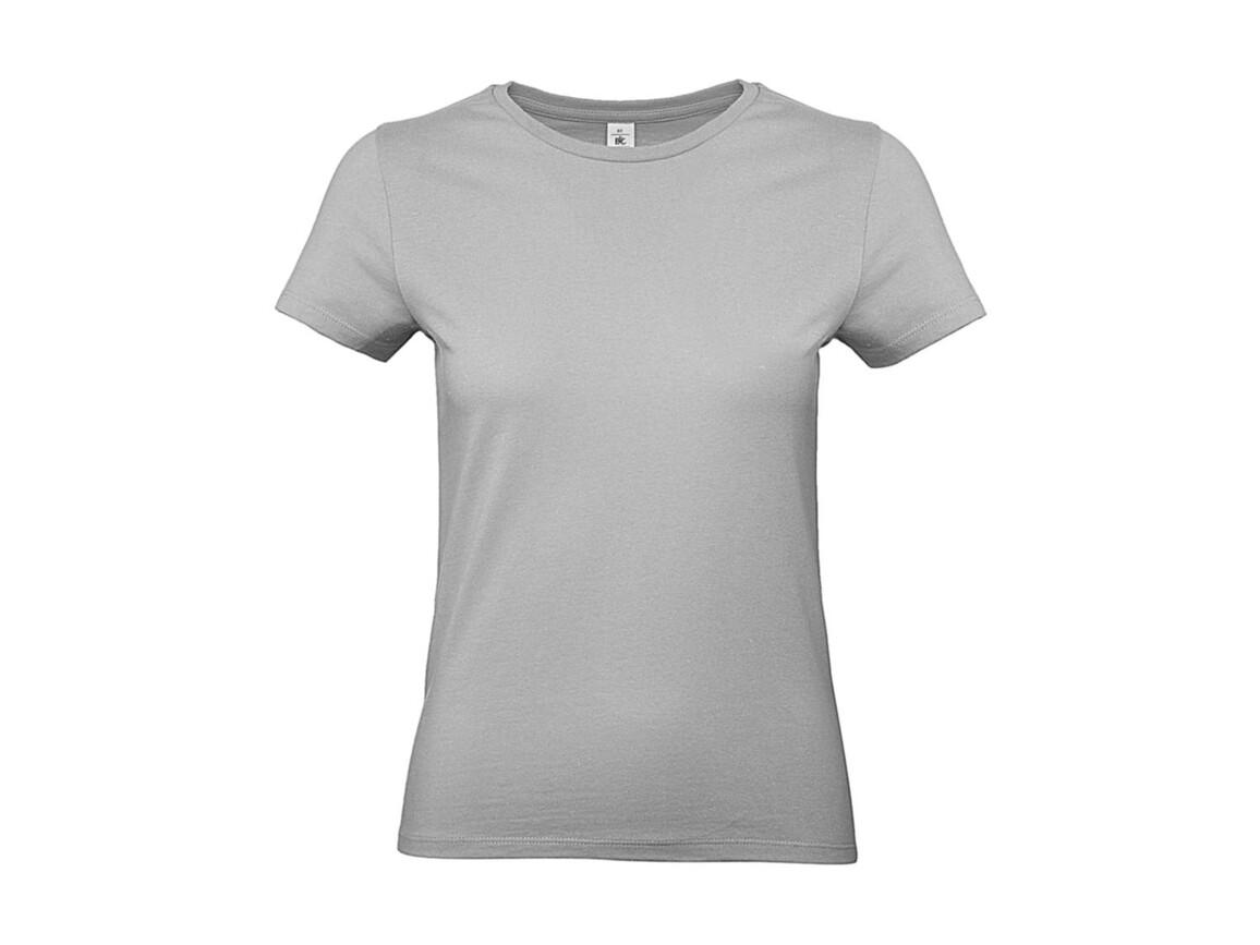 B & C #E190 /women T-Shirt, Pacific Grey, M bedrucken, Art.-Nr. 020421354