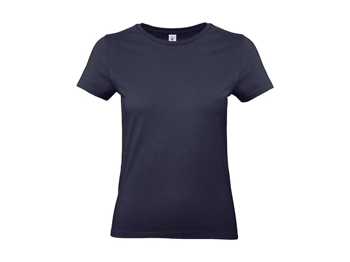 B & C #E190 /women T-Shirt, Urban Navy, L bedrucken, Art.-Nr. 020422075