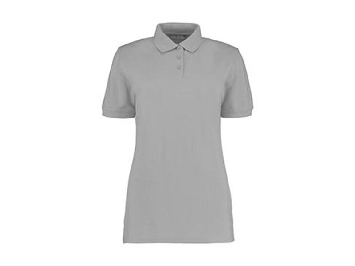 Kustom Kit Ladies` Classic Fit Polo Superwash® 60º, Heather Grey, XL bedrucken, Art.-Nr. 042111236