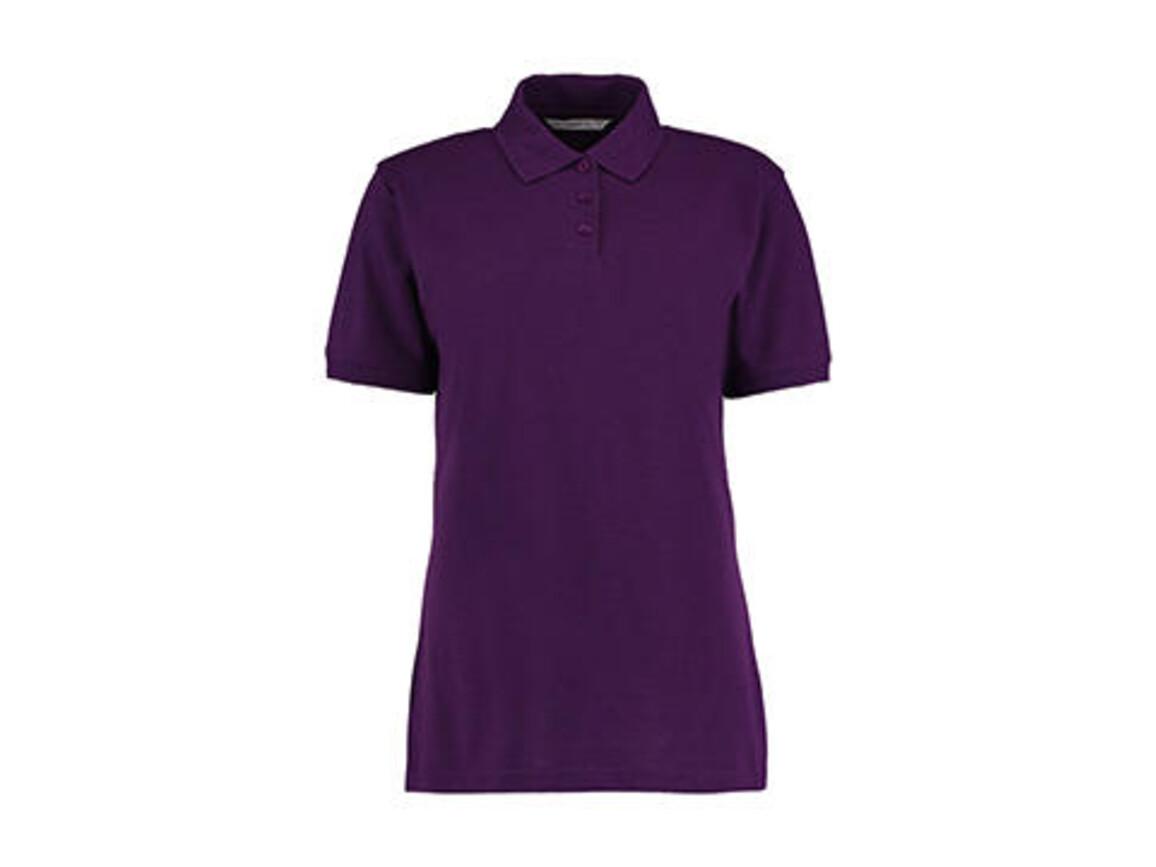 Kustom Kit Ladies` Classic Fit Polo Superwash® 60º, Dark Purple, M bedrucken, Art.-Nr. 042113484